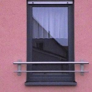 Französischen Balkon fenstergitter absturzsicherung aus edelstahl stahl moor design