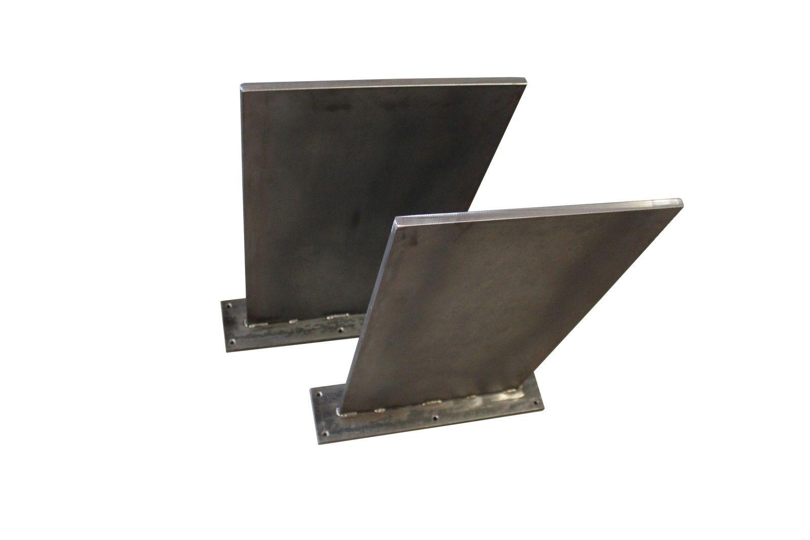 Tischgestell stahl tischkufen loft style stahl moor for Tischgestell design