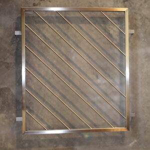 Edelstahl fenstergitter absturzsicherung einbruchschutz - Fenstergitter in der laibung ...