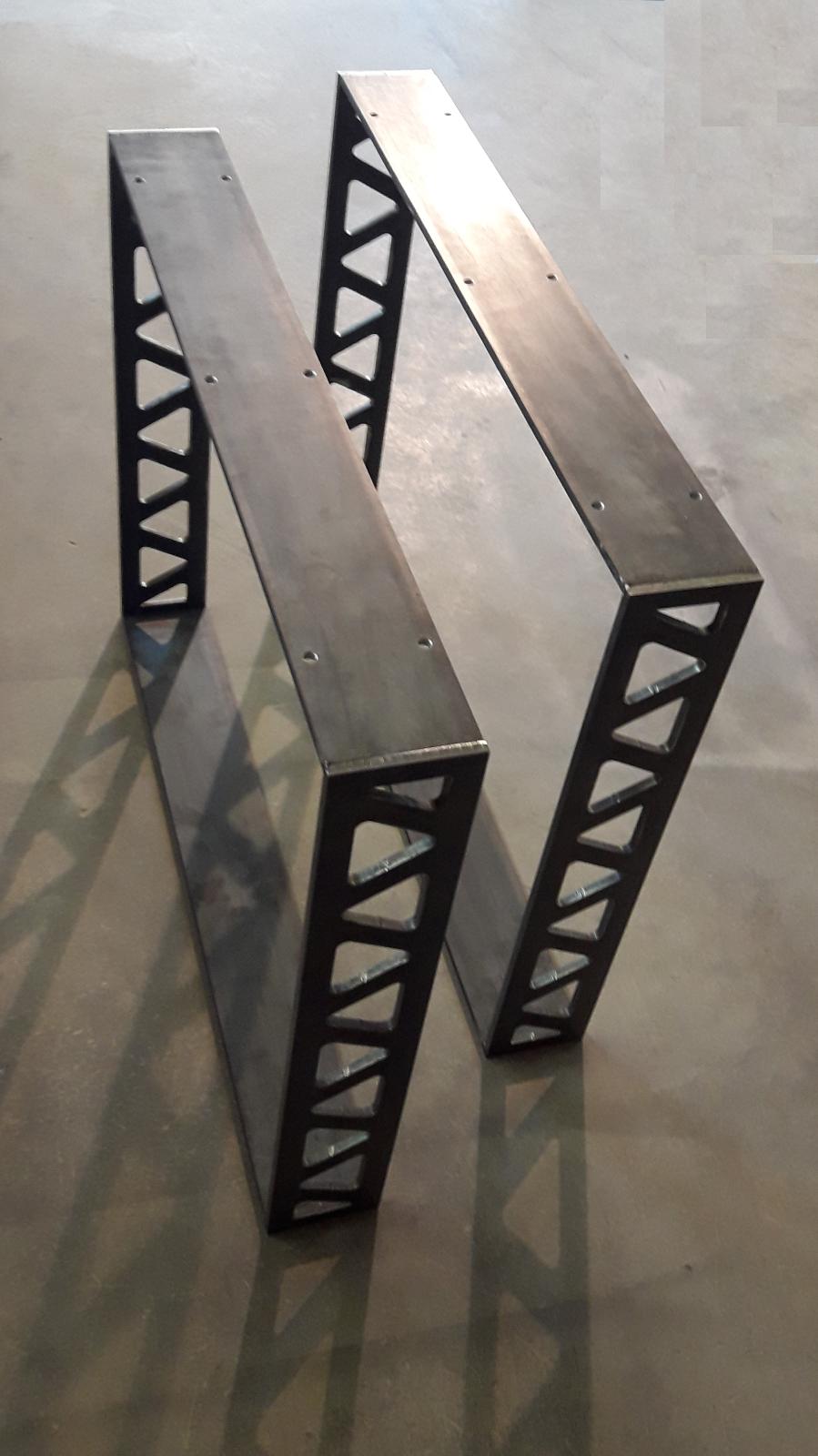 Tischkufen Industrial Design Tischgestell Stahl Untergestell Metall